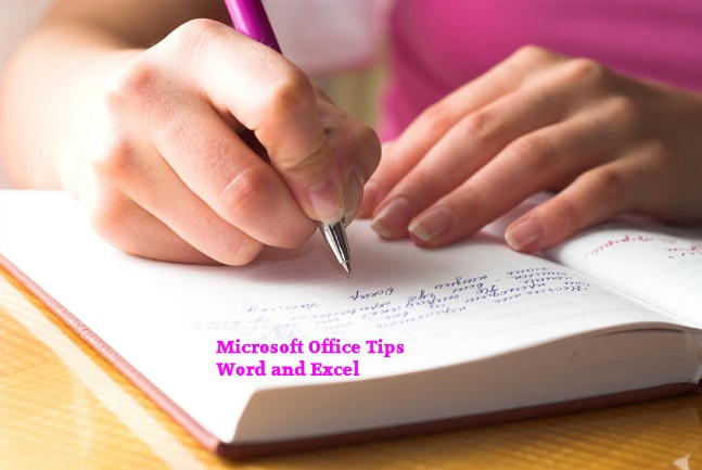 Microsoft Office Tips for Word and Excel